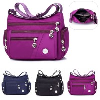 Waterproof Nylon Shoulder Handbag